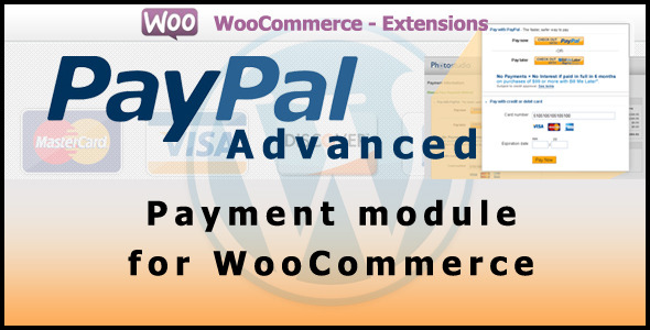 Paypal advanced gateway for woo commerce official plugin by woothemes mys - Paypal paiement differe ...