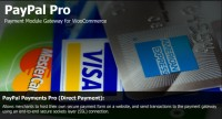 Official PayPal Pro plugin for Woo Commerce